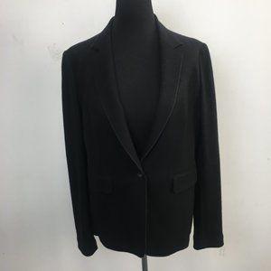 Rag & Bone Black 100% Wool 1 Button Blazer